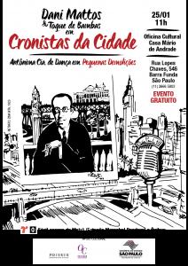 cartazete Cronistas na Mario